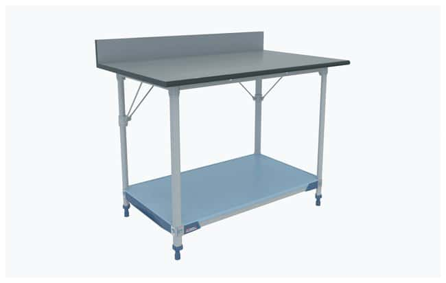 Metro MetroMax i Polymer Lab Worktable, Gray Phenolic Top with Solid i