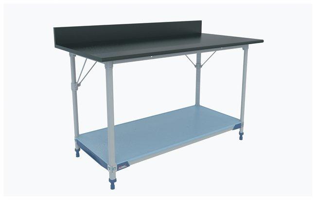 Metro MetroMax i Polymer Lab Worktable, Black Phenolic Top with Solid i