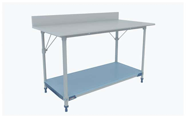 Metro MetroMax i Lab Worktable, Stainless Top and Backsplash with Solid
