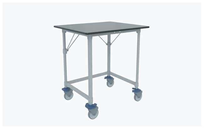 Metro MetroMax i Polymer Lab Worktable, Gray Phenolic Top with 3-Sided