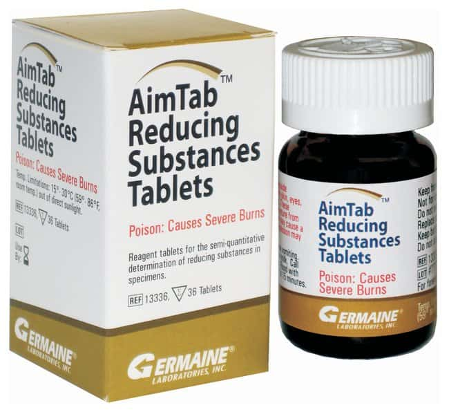 Germaine Laboratories AimTab Reducing Substances Tablets