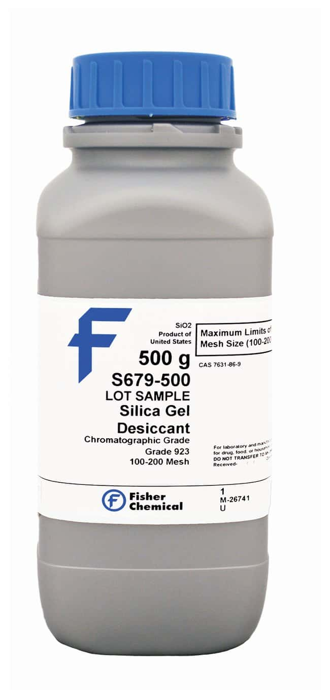 Silica Gel Desiccant (100-200 Mesh/923, Chromatographic Grade), Fisher Chemical™