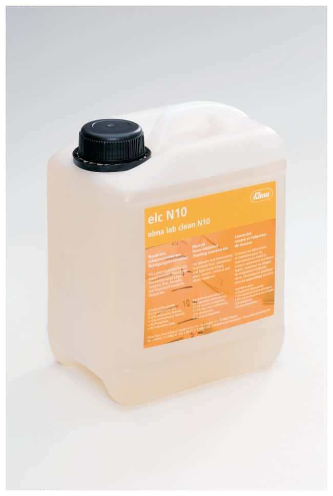 Elma Lab Clean N10 Ultrasonic Cleaning Solution:Wipes, Towels and Cleaning:Cleaners