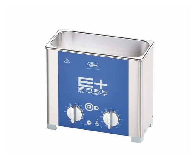 Elma Elmasonic E Plus Ultrasonic Cleaners Heated ultrasonic cleaner; Capacity: