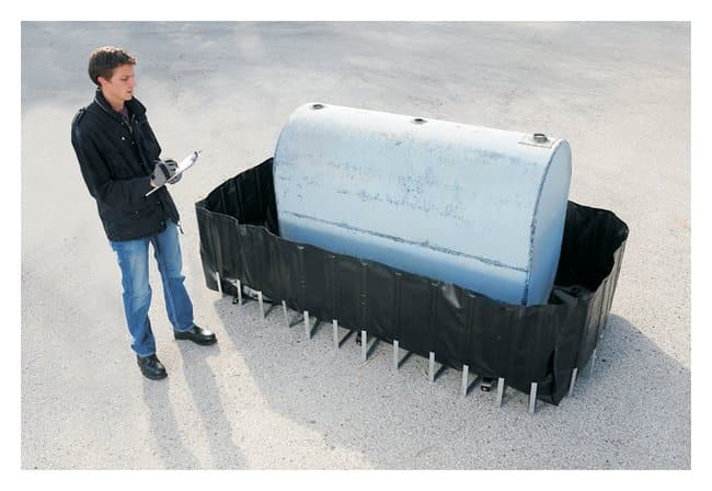 Youngstown Barrel  102 x 72 x 24 in.; With Drain:Gloves, Glasses and Safety