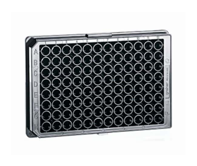 Greiner Bio-One 96-Well Flat Bottom Chimney Style Non-binding Microplates:Dishes,