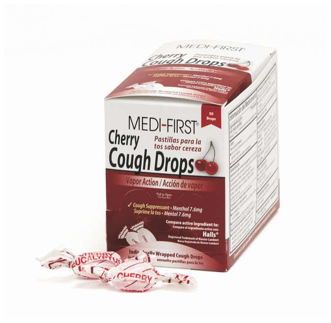Medique Medi-First Cough Drops:Gloves, Glasses and Safety:First Aid and