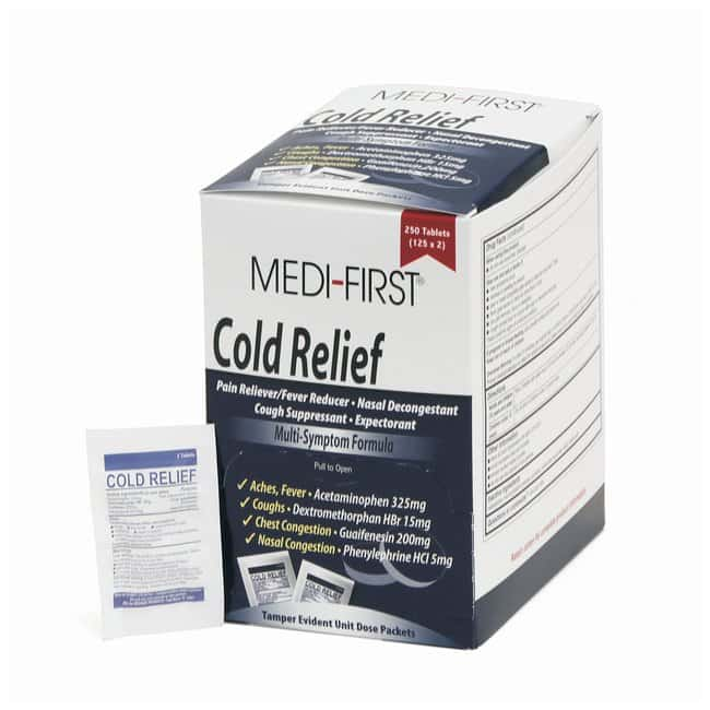 Medique Medi-First Cold Relief Tablets:Gloves, Glasses and Safety:First