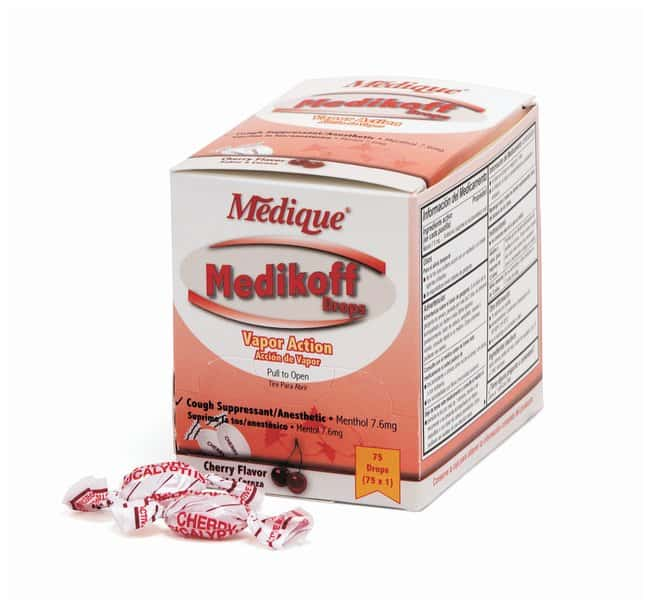 Medique Medikoff Cough Drops:Gloves, Glasses and Safety:First Aid and Medical