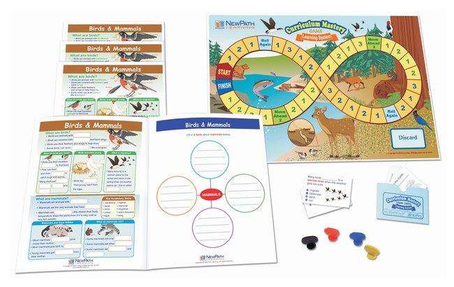 NewPath LearningBirds  Mammals Learning Center, Grades 1 - 2 Birds & Mammals