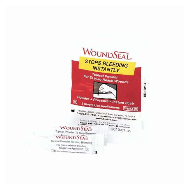 Medique Biolife QR WoundSeal Powder:Gloves, Glasses and Safety:First Aid