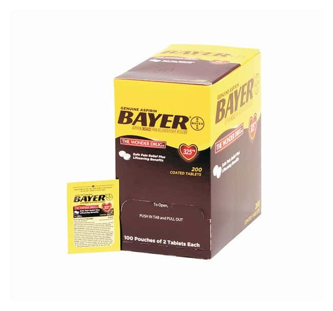 Medique Bayer Aspirin Tablets:Gloves, Glasses and Safety:First Aid and