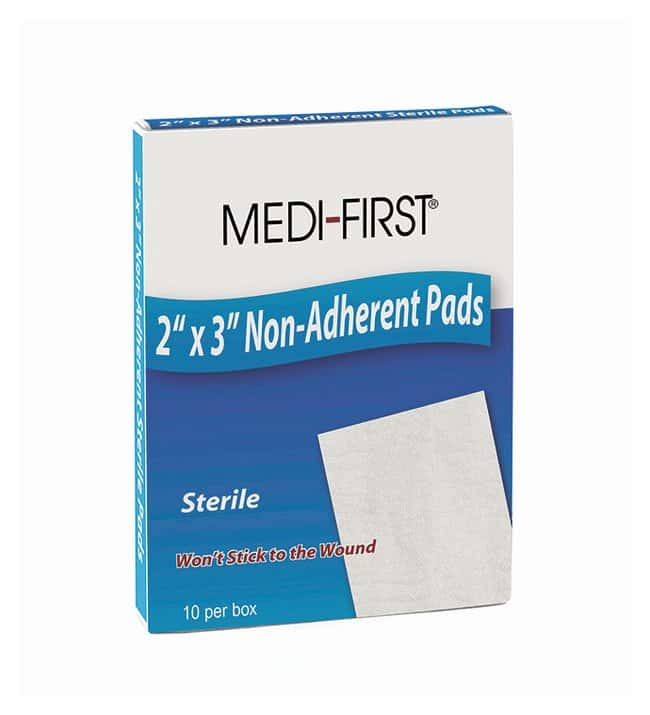 Medique Medi-First Non-Adhesive Sterile Gauze Pads:Gloves, Glasses and