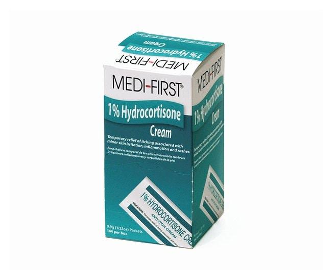 Medique Medi-First Hydrocortisone Anti-Itch Cream 144/Box:Gloves, Glasses