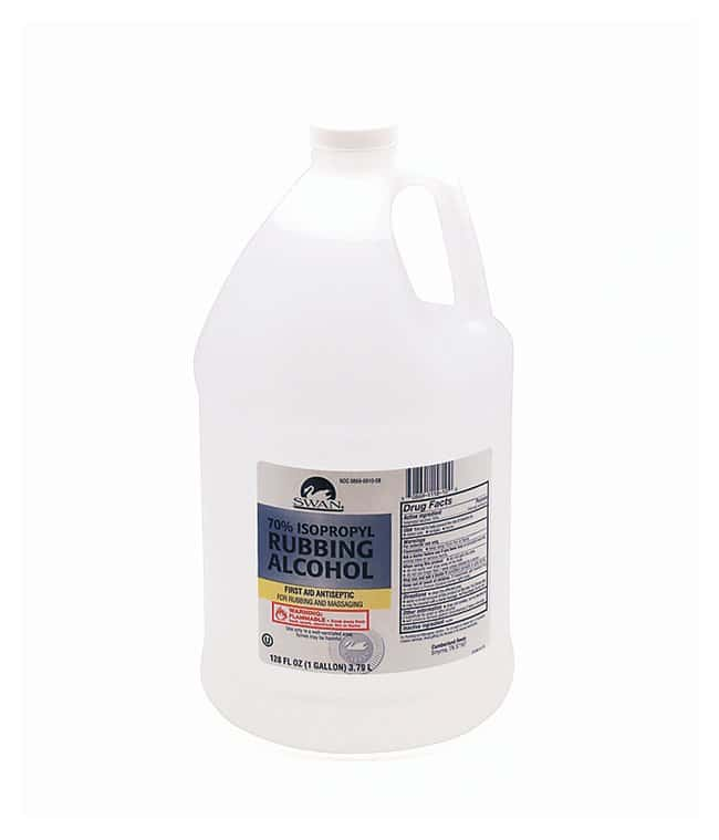 Medique Rubbing Antiseptic Alcohol Isopropyl alcohol 70%; 1 gal.:Gloves,