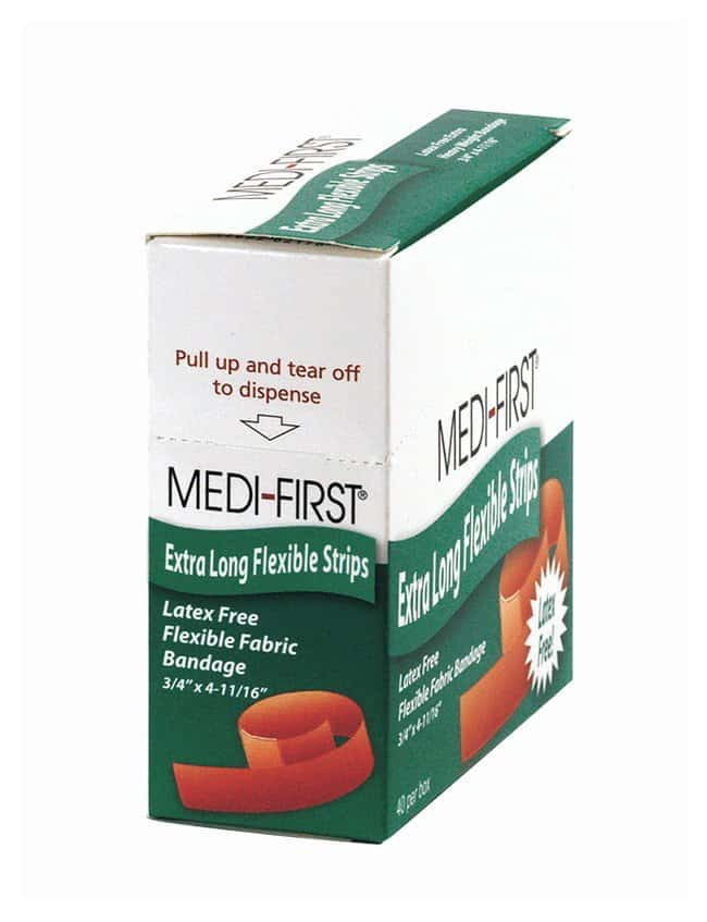Medique Medi-First Woven Adhesive Bandages:Gloves, Glasses and Safety:First