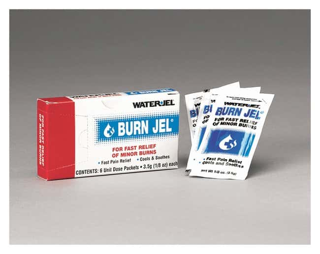 Medique BurnJel Burn Care Treatment 6/Box:Gloves, Glasses and Safety