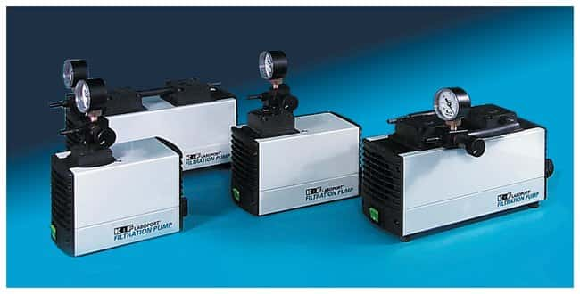 KNF NeubergerLABOPORT Filtration Vacuum Pumps: 16L/min. Flowrate 16L/min.