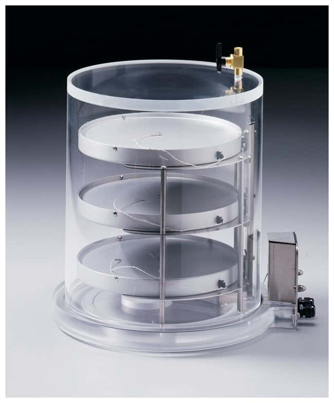 Labconco Heated Product Shelf Chambers Includes 3 shelves and clear chamber;