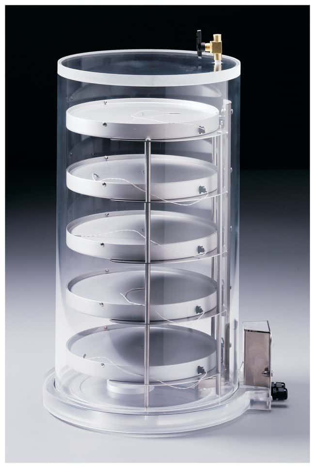 Labconco Heated Product Shelf Chambers Includes 5 shelves and clear chamber;