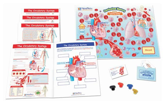 NewPath Learning The Circulatory System Learning Center  For Grades 6,
