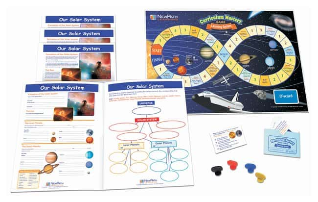 NewPath Learning Our Solar System Learning Center  For Grades 6, 7, 8,