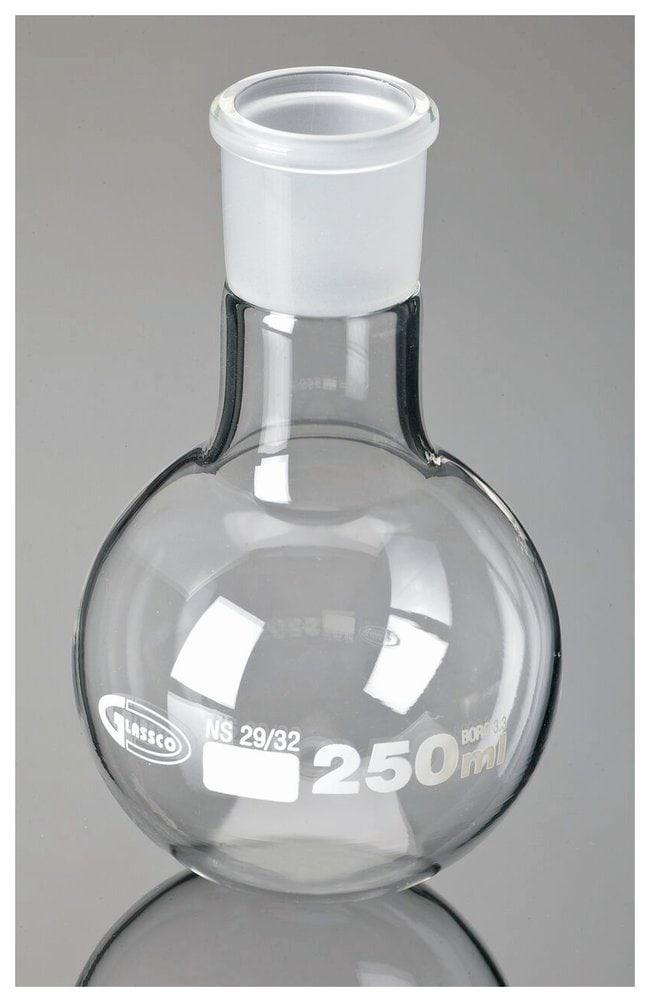 United Scientific Supplies Boiling Flasks, Round Bottom, Ground Glass Joint,