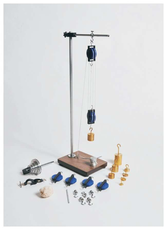 United Scientific Supplies Pulley Demonstration Set - Teaching Supplies,  Physics Classroom