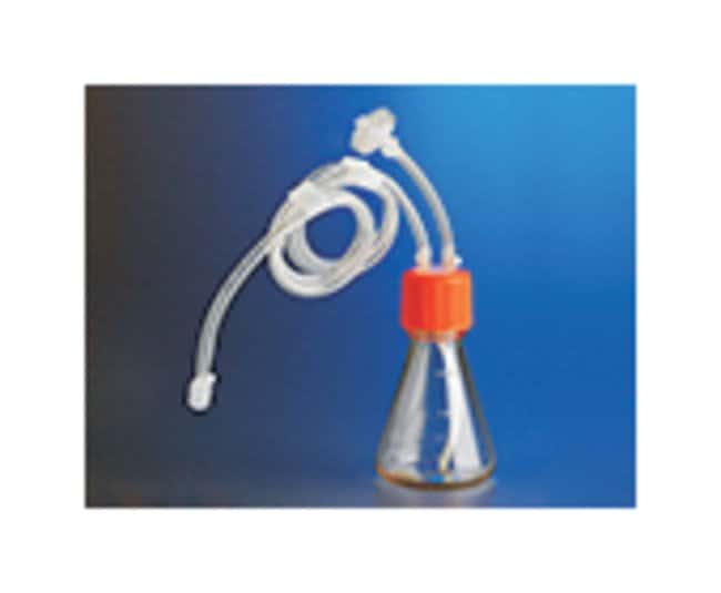 Corning Polycarbonate Erlenmeyer Flask with Dip Tube, Male Luer Lock, Sterile