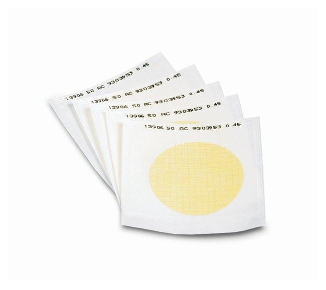 Sartorius™Gridded Sterile Cellulose Nitrate Membrane Filters: 3μm Pore size: 3μm; Dia.: 47mm; w/Black grid; White; 1000/Pk. Sartorius™Gridded Sterile Cellulose Nitrate Membrane Filters: 3μm