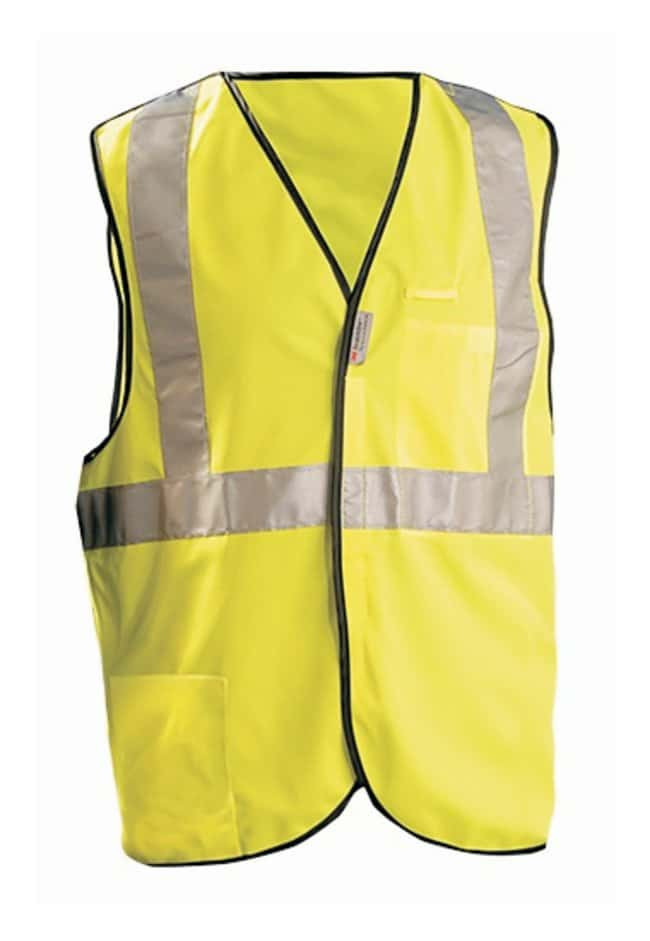 OccuNomix Safety Vests Size: Medium:Gloves, Glasses and Safety