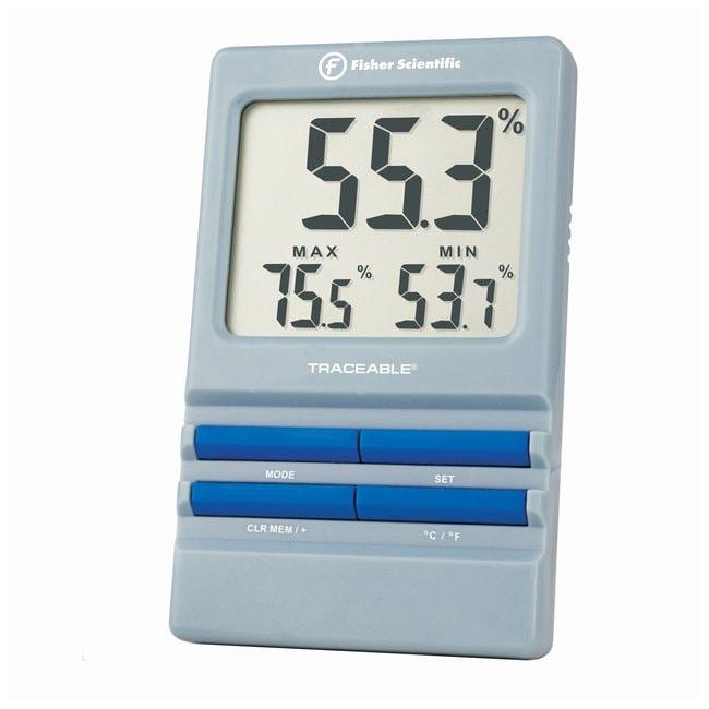 Fisherbrand Traceable Alarm RH/Temperature Monitor  Internal temperature