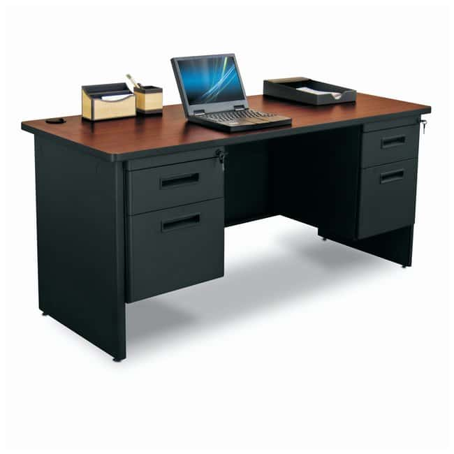 MarvelPronto Double Pedestal Credenza:Furniture:Desks and Tables