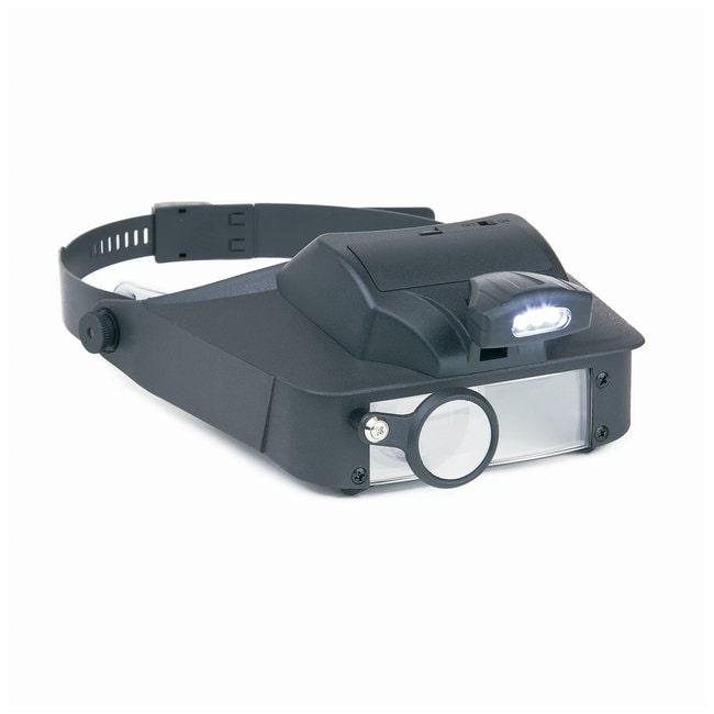 CarsonLumiVisor LED Lighted Head Visor Magnifier Model: LV-10:Education