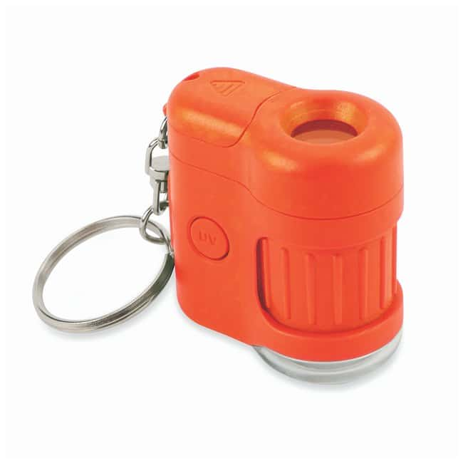 Carson MicroMini 20X LED and UV Lighted Pocket Microscope  Color: Orange;
