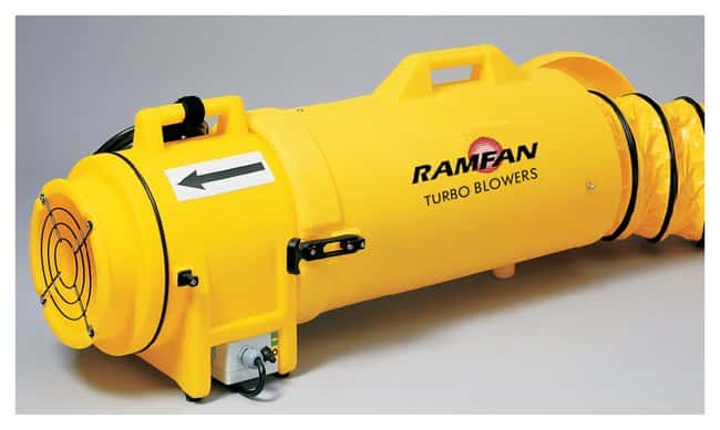 Euramco Ramfan UB20 and UB20xx Blowers:Gloves, Glasses and Safety:Confined