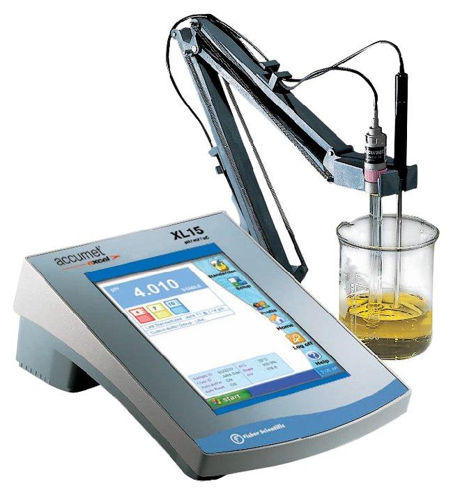 Fisherbrand accumet Excel XL15 pH/mV/Temperature Meter:Thermometers, pH
