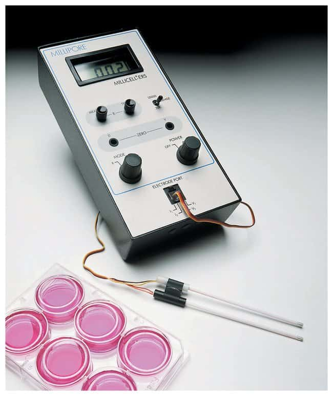 MilliporeSigma™ Millicell-ERS2 Volt-Ohm Meter and accessories