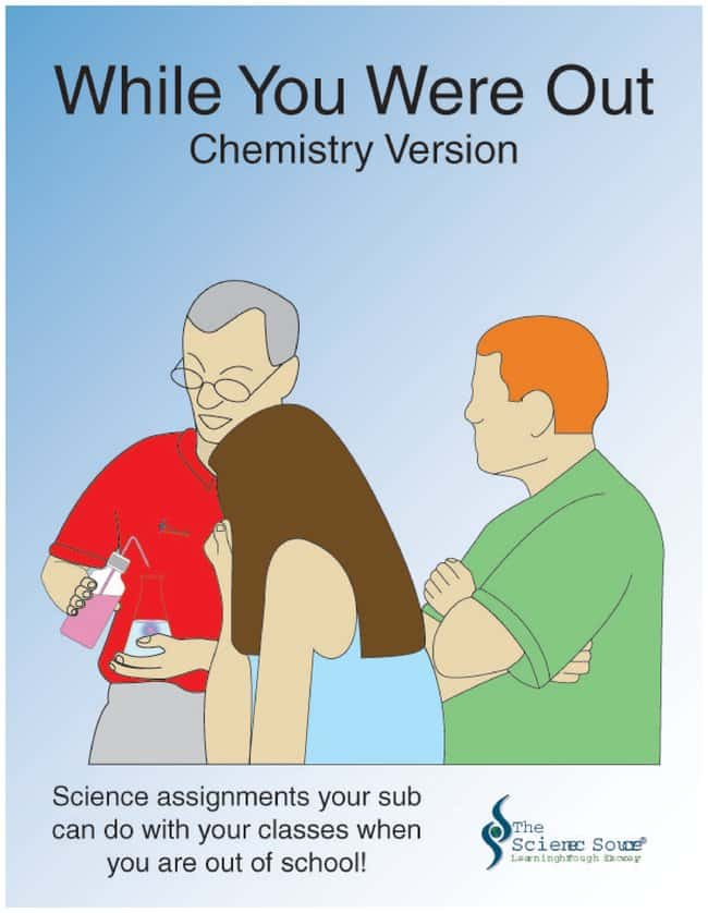 While You Were Out Series :Teaching Supplies:Chemistry Classroom