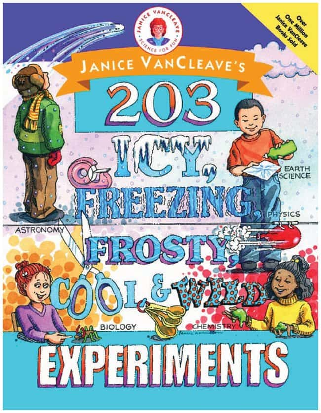 Janice VanCleave Experimental Books  ::