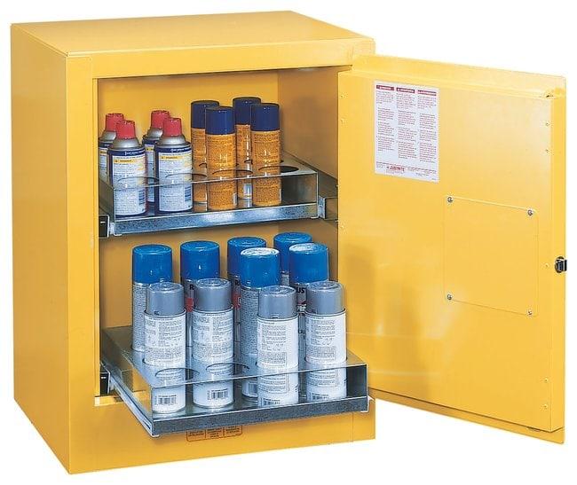 Justrite Sure-Grip EX Aerosol Can Benchtop Safety Cabinet Aerosol Can Benchtop