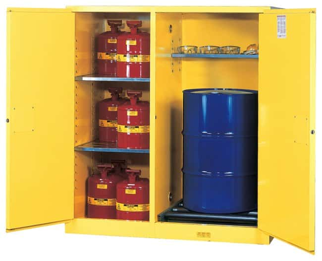 Justrite™Sure-Grip™ EX Double-Duty Horizontal Safety Cabinet