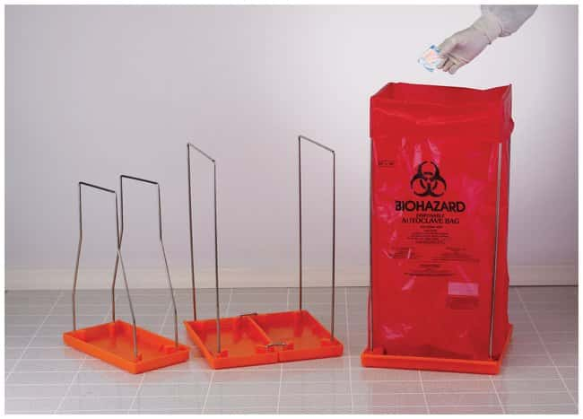 Bel-Art SP Scienceware Clavies Biohazard Bag Holders :Teaching Supplies:Classroom