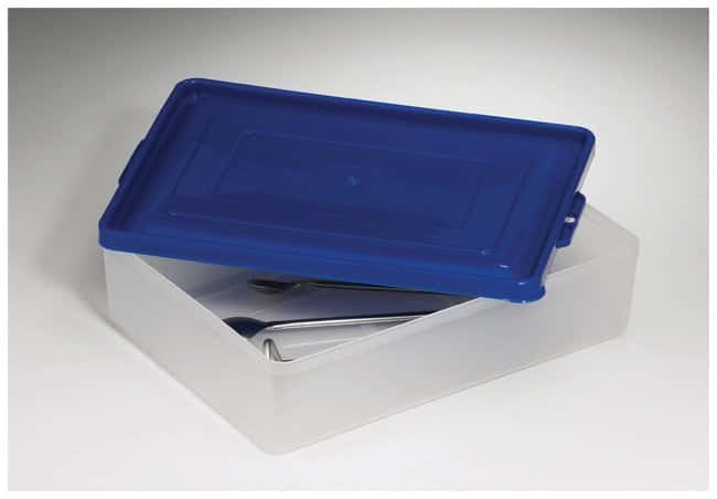 Bel-Art SP Scienceware Multipurpose Polypropylene Tray with Lid  Dimensions: