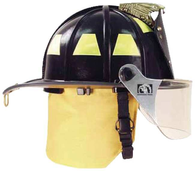 Honeywell Ben 2 Plus Structural Helmets Standard, Black:First Responder