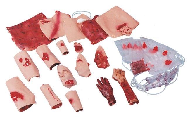 SimulaidsTrauma Moulage Kit Trauma Moulage Kit:First Aid and Medical