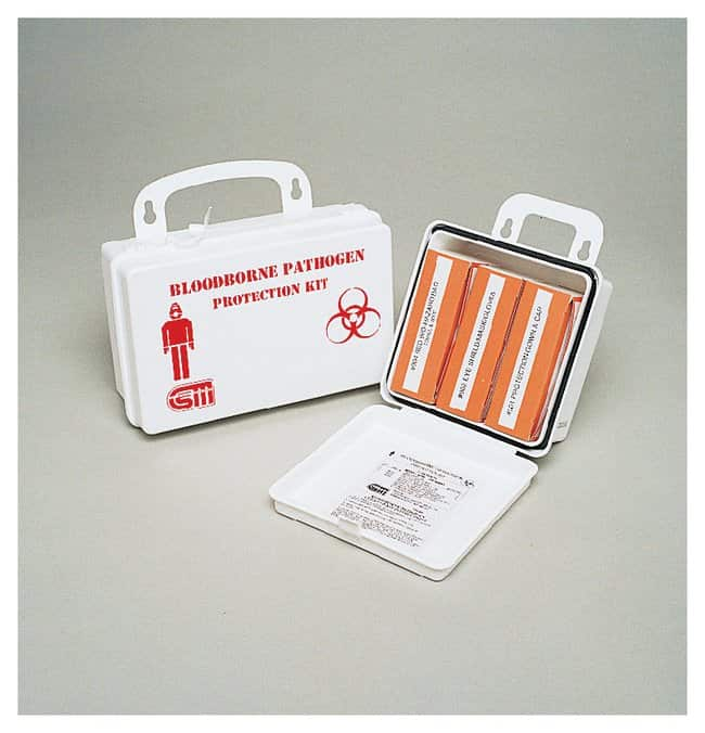 Certified Safety Bloodborne Pathogen and Body Fluid Kits:First Responder