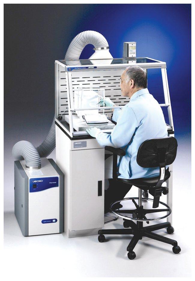 LabconcoXPert Easy-Order Balance Enclosure Systems Fume Hood System; 3