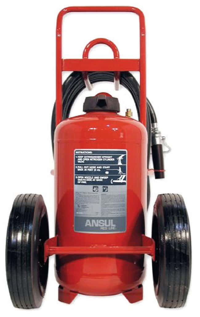 Ansul Red Line Wheeled Fire Extinguisher Wheeled Red Line Extinguisher,