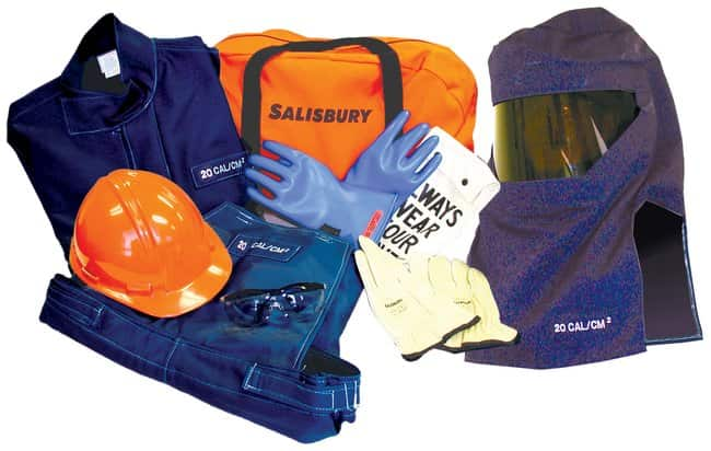 Honeywell Salisbury 20 cal/cm2 Flash Kits without Gloves:Gloves, Glasses